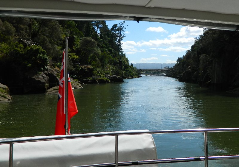 Cruising on the Tamar