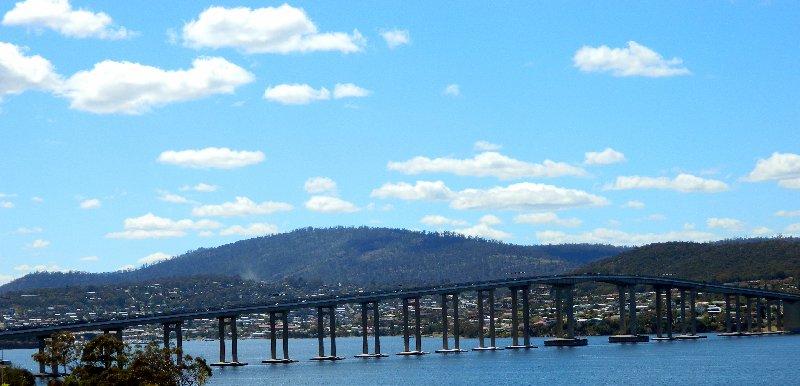 The Tasman Bridge, Hobart Tasmania