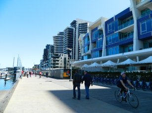 The Esplanade, Docklands -Melbourne