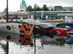Retro colour schemes on yachts