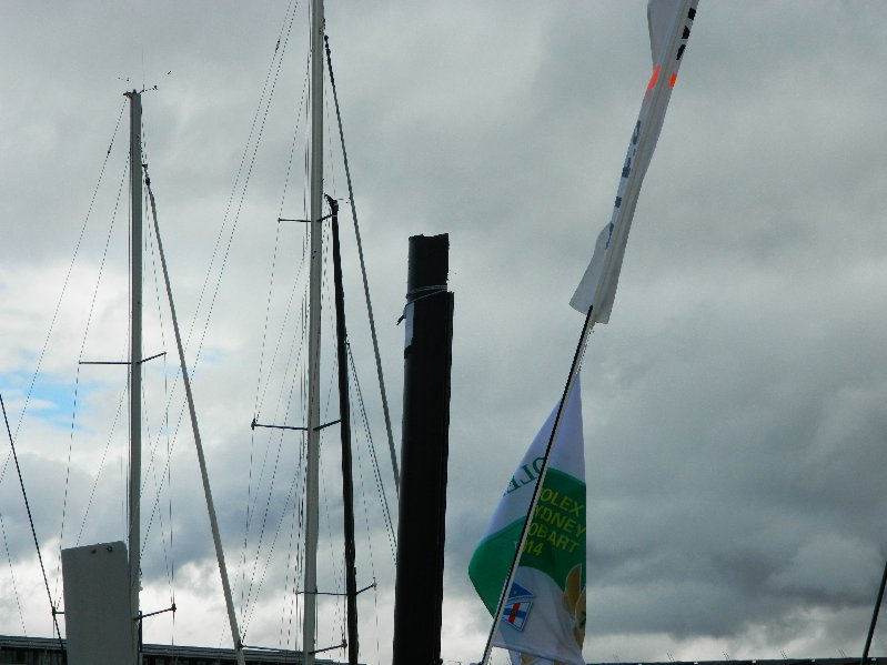 The broken mast
