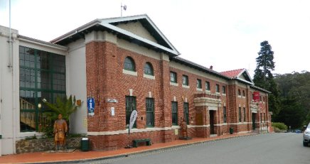 The Forestry Centre formerly the Town Hall.