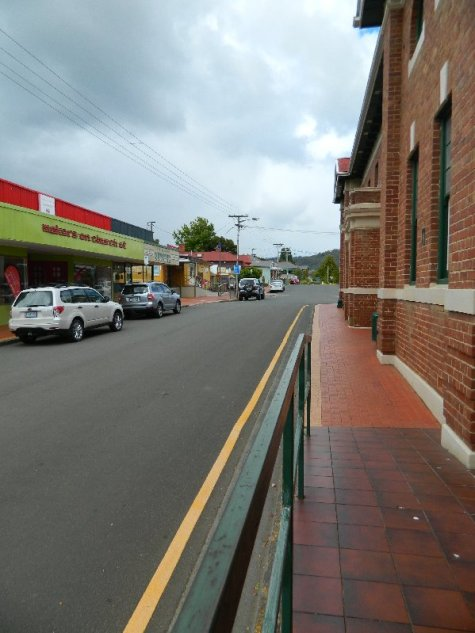 Church Street from the lower end.