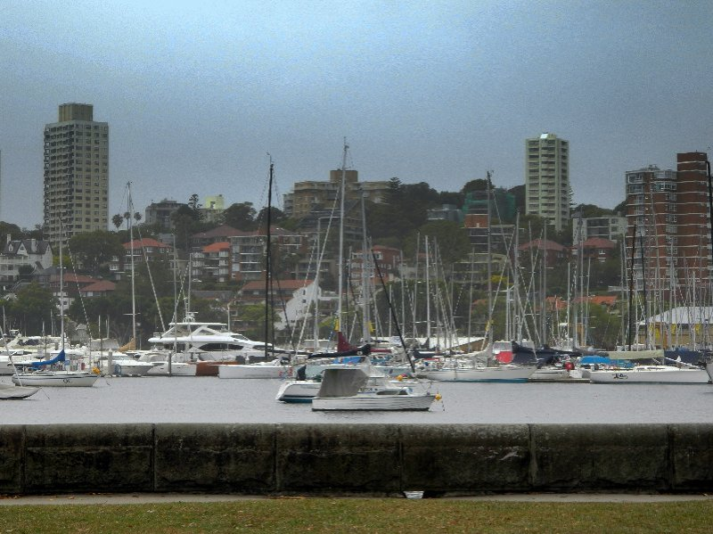 The race begins in Rushcutter's Bay, Sydney on Boxing Day