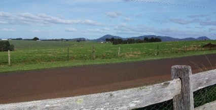 countryside near Burnie, Tasmania
