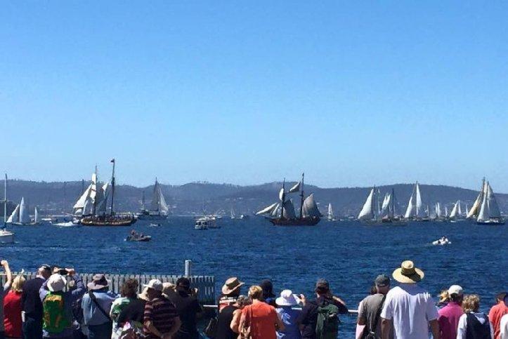 Parade of Sail - Photo by Matt Clark.