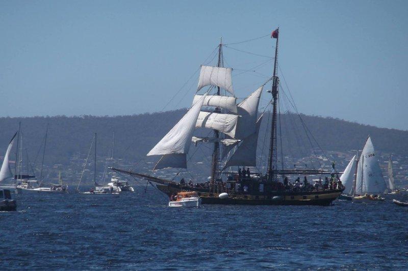 Windeward Bound, Hobart
