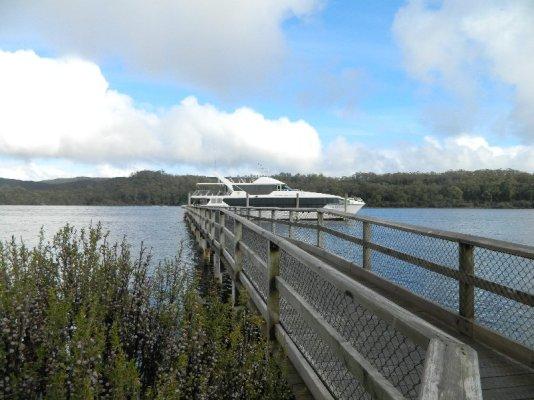 Jetty - Gordon River, Tasmania