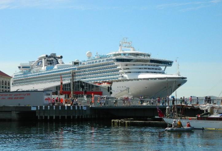 Diamond Princess in Hobart