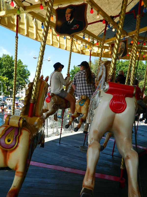 """Riding """"The Gallopers"""""""