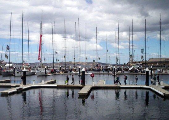 Pontoons - Constitution Dock, Hobart