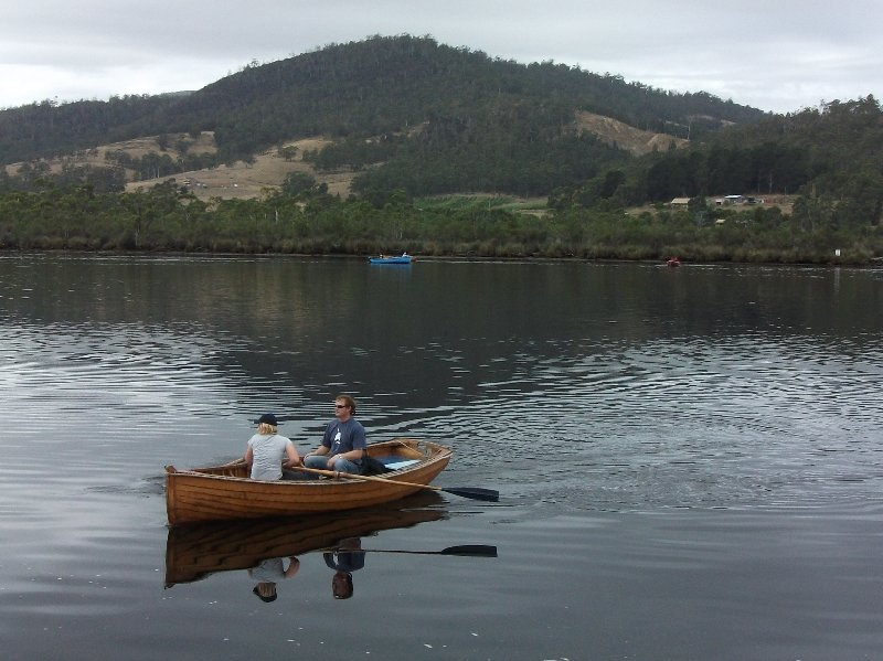 Messing about in boats - Franklin, Tasmania