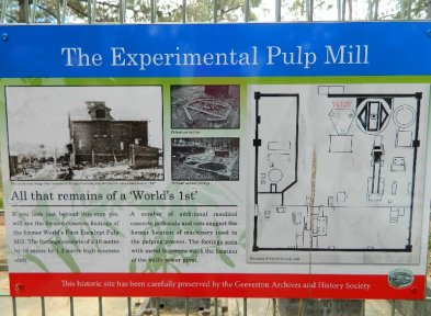 Pulp Mill sign