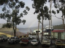 Ronja Huon at Port Huon Wharf