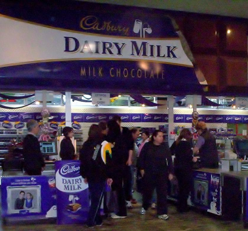 The Cadbury Factory Shop