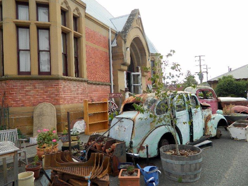 Willow Court Antiques, New Norfolk, Tasmania