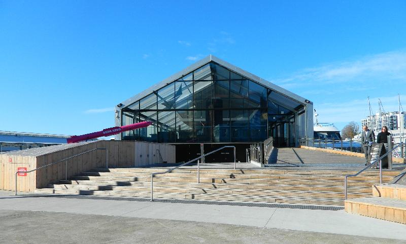 The new Brooke St Pier