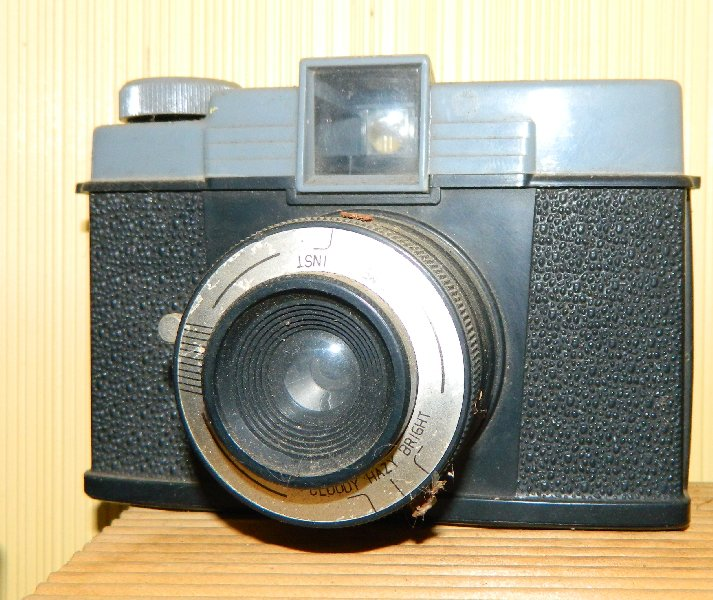 A bit dusty but this is my first camera given to me around 1965.