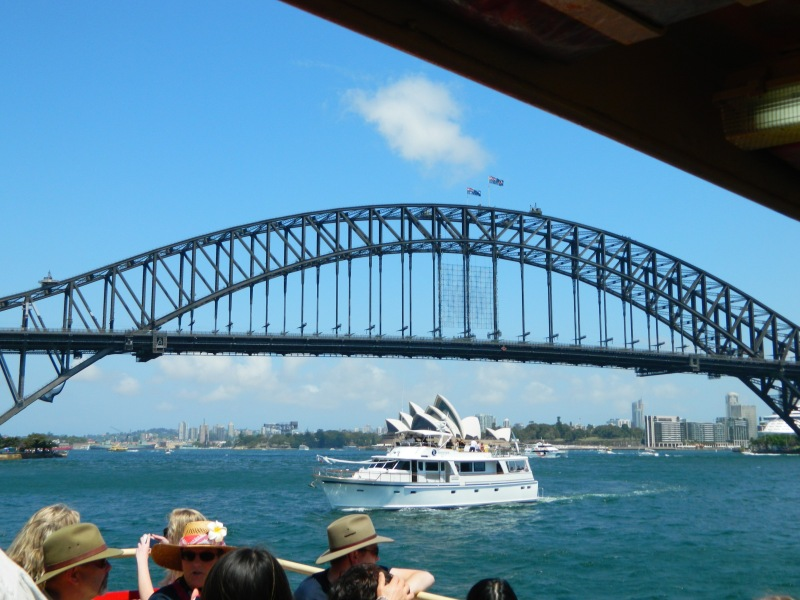 Taken on a ferry, Sydney Harbour 2012