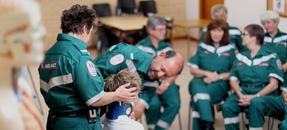 Ambulance Volunteers- Photo from SA Ambulance Service, 2015.