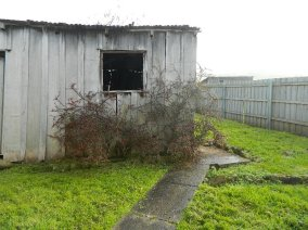 The soon to be no more Rustic Shed