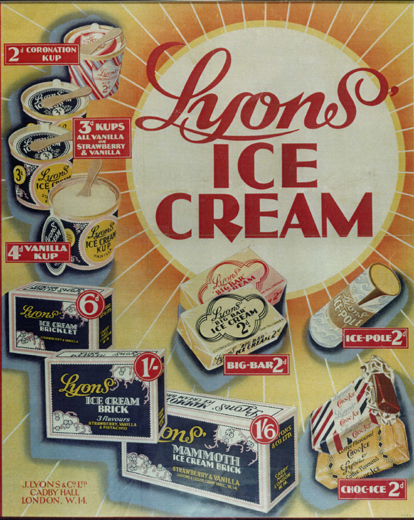 Lyon's Ice Cream. I remember these.