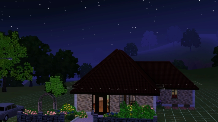 A screenshot from The Sims 3