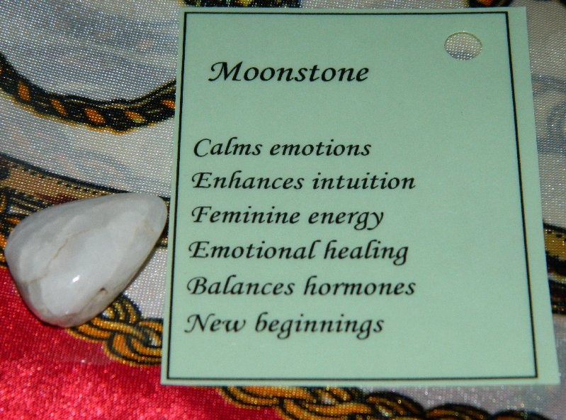 As well as all the things mentioned the Moonstone is supposed to keep you safe when you travel.
