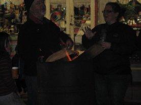 Firepots in Church St