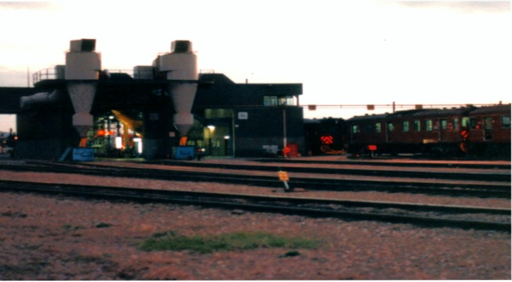 My former work place. The Raicar Depot on North Terrace, Adelaide
