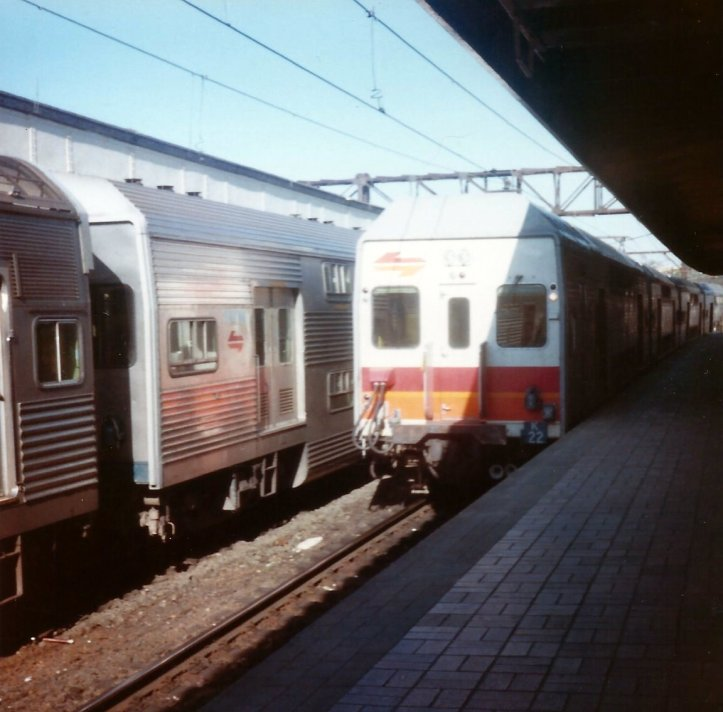 Here are some of the urban or interurban railcars being used in 1985.