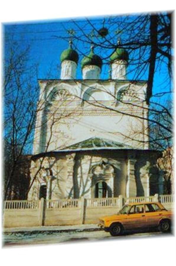 Church in Irkutsk, Siberia.