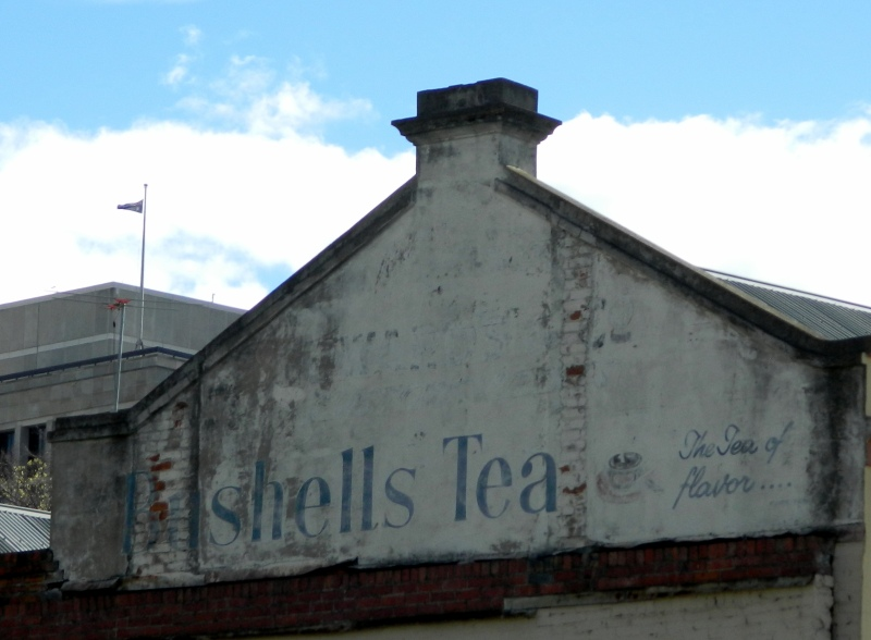 "Another ""ghost sign"" in Hobart"
