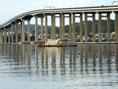 The Tasman Bridge, Hobart.