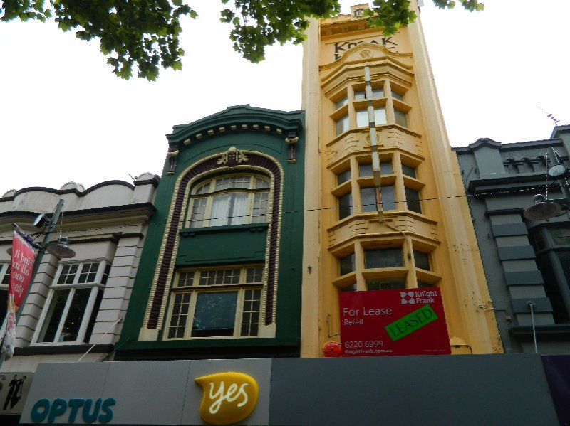 Old Kodak Building, Elizabeth Mall, Hobart