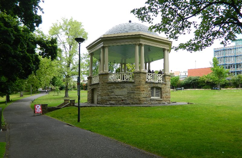 Rotunda, St David's Park.