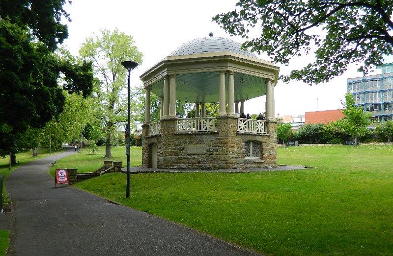 Rotunda, St David's Park.