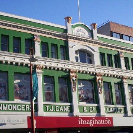 T.J Cane, former Ironmongers store, Elizabeth St Hobart
