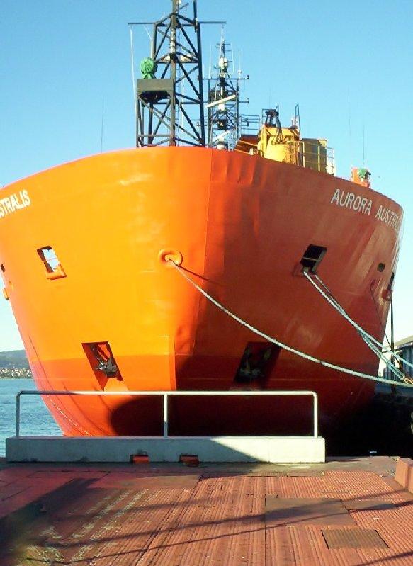 Aurora Australis Antartic vessel.
