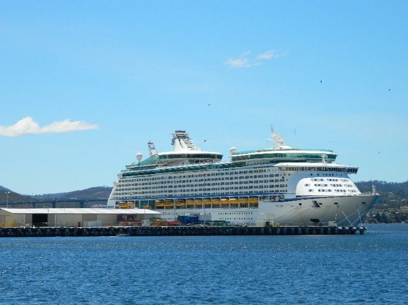 Voyager of the Seas, Hobart - 3 December 2015