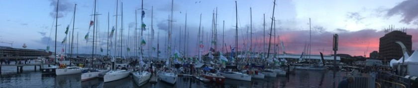 Hobart Waterfront. New Year's Eve 2015 -photo by Matt Clark taken on an iPhone.