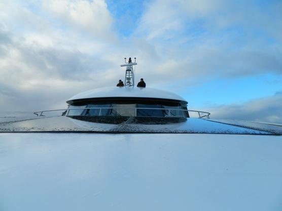 Gordon River cruise boat.