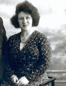 My grandmother in middle age, before I was born.