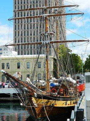 Sail training ship Windeward Bound ,