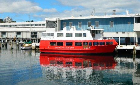 Spirit of Hobart ferry.