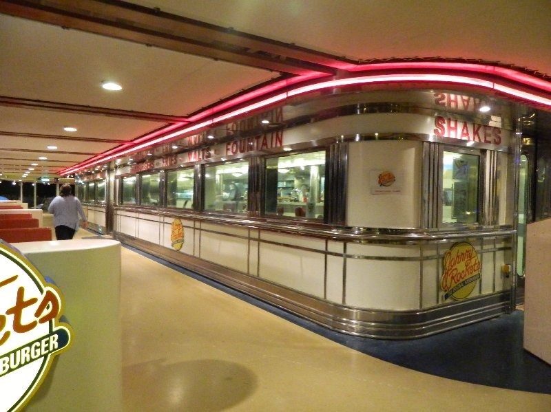Explorer of the Seas Johnny Rockets Diner.