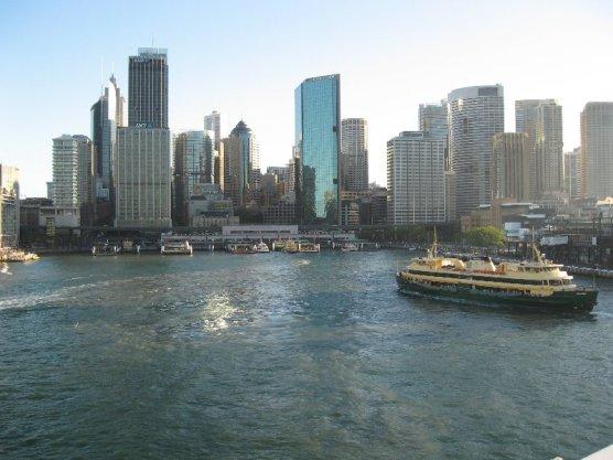 Circular Quay Sydney from water