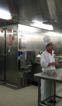 One of the chefs.
