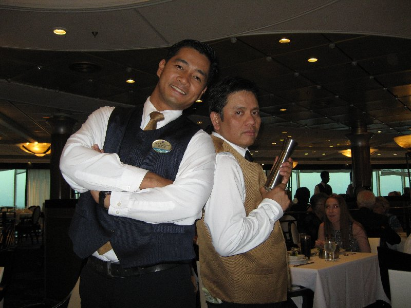 Pepito and Anthony -SapphireDining Room Deck 5.