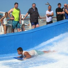 the Flow Rider on Explorer of the Seas